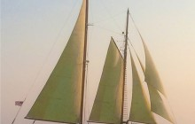 Shared Day Sail on When And If Schooner