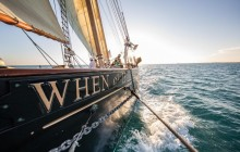 Shared Sunset Sail on When and If Schooner