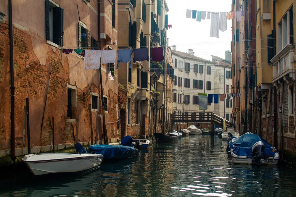 Venice Boat Tour with Grand Canal & Tower Climb