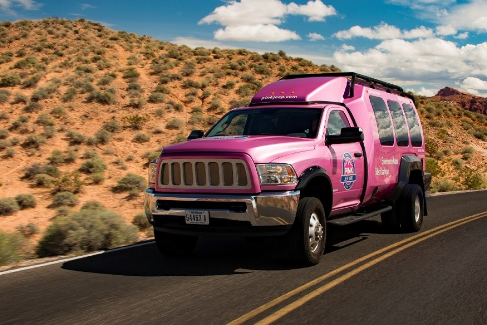 Valley Of Fire Pink Jeep Tour Las Vegas Project Expedition