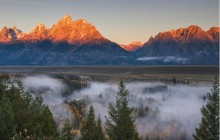 Sunrise Tour in Grand Teton National Park
