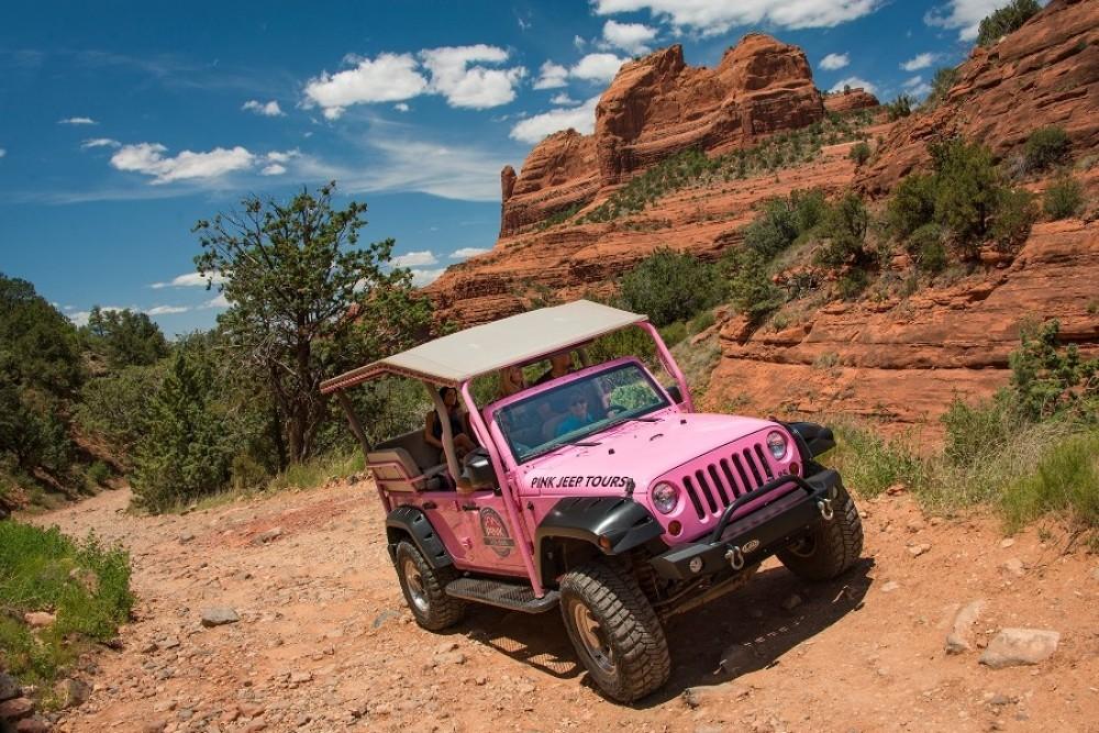 Sedona Scenic Rim 2 Hour Jeep Tour
