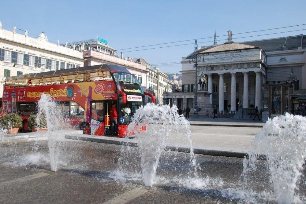 City Sightseeing Hop On Hop Off Genoa