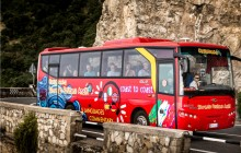 Coast to Coast: Sorrento, Positano, and Amalfi Sightseeing Bus