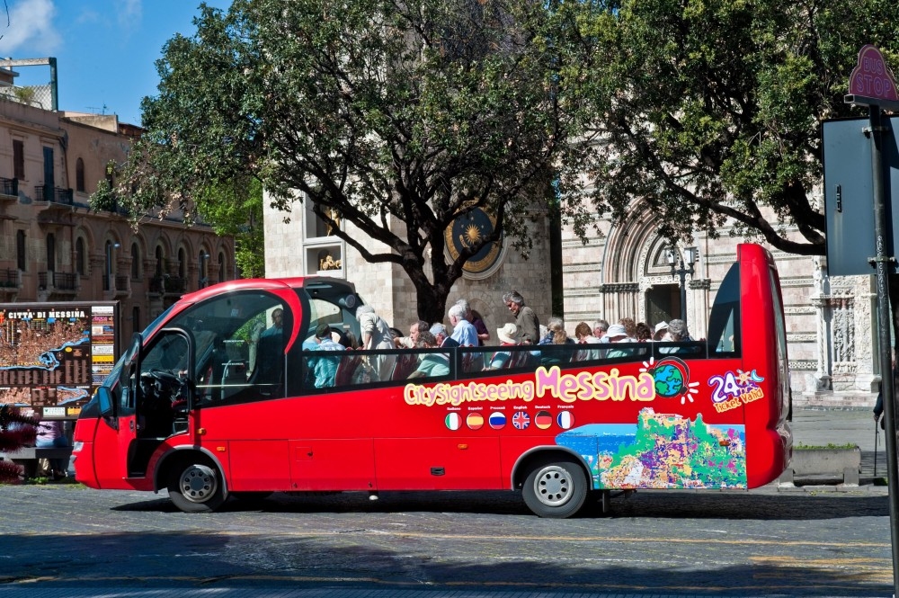 City Sightseeing Hop On Hop Off Messina
