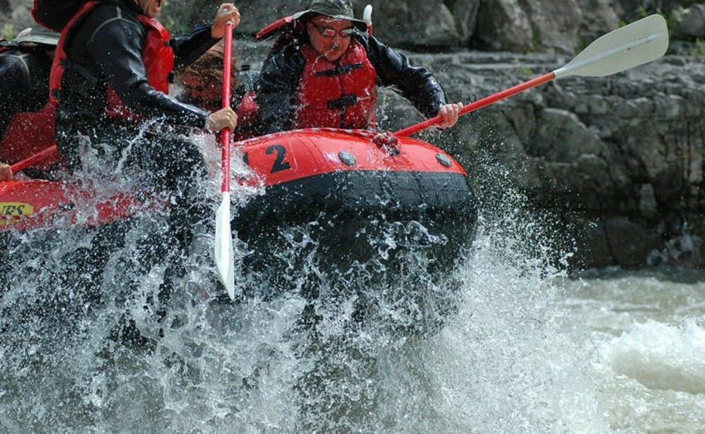 Small Raft 8 Mile Whitewater Adventure
