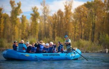 Combo: Teton Views Scenic Lunch Float & Whitewater Rafting