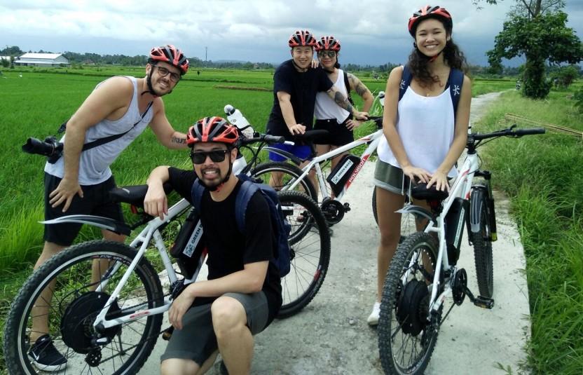 "E-Bike Cycle: South Ubud Nature & Villages"""