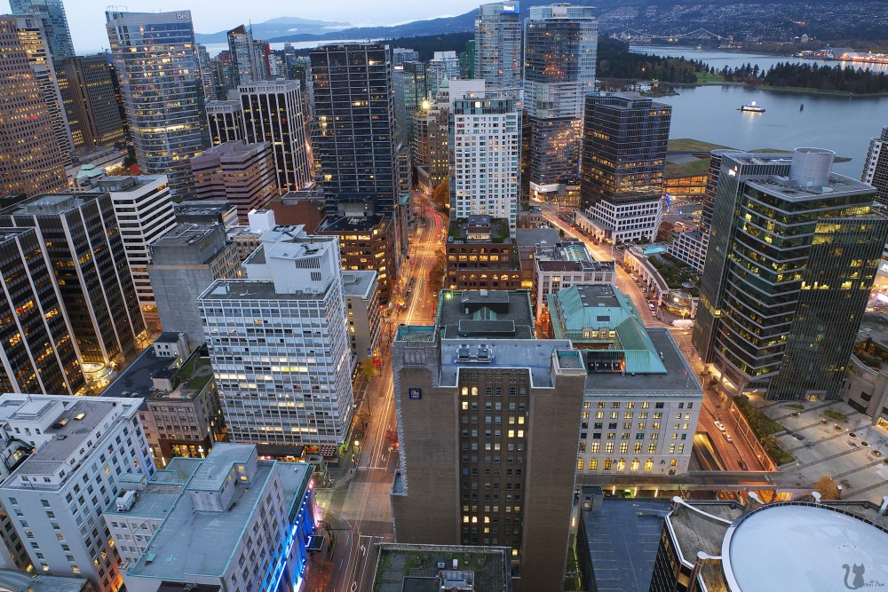 Morning: Vancouver City Highlights + Vancouver Lookout