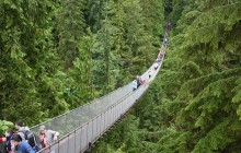 Mountain Discovery with Grouse Mountain & Capilano Bridge