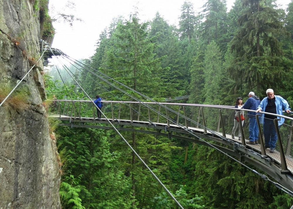 Peak & Canyon Tour with Capilano Bridge & Grouse Mountain
