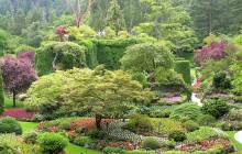 7:00 AM: Victoria & Butchart Gardens Tour from Vancouver