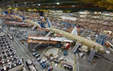 Boeing Factory Tour with Transportation
