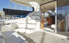 Private Motor Yacht Charter - Barcelona Skyline