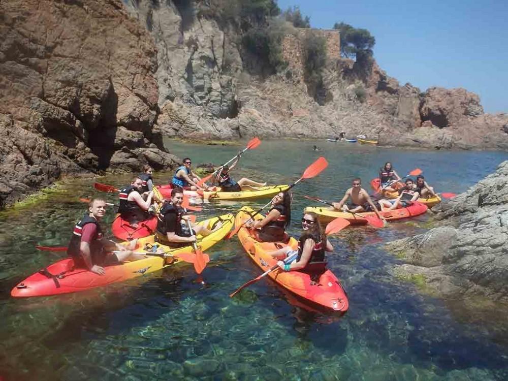 Costa Brava Kayaking + Snorkeling Tour