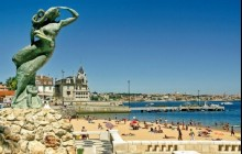 Sintra Tour + Cascais + Estroil + Pena Palace with Lunch Full Day