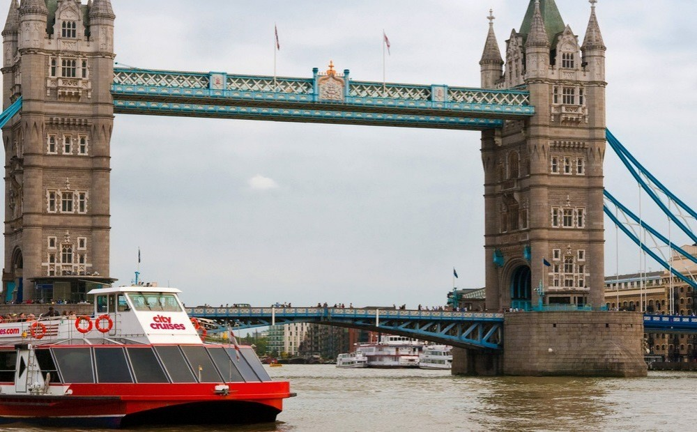 Tower Bridge Exhibition with Thames River Cruise