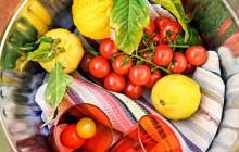 Santorini Flavours: Farm Visit + Local Cooking Experience Private