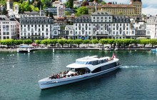 Scenic Lake Lucerne Cruise on the Panorama Yacht