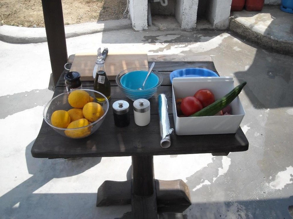 Barbeque Experience at Mykonian Spiti Farm