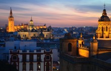 Romantic Seville Rooftops + Sunset with Music