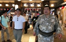 Private Walking Tour With Sumo Wrestlers in Asakusa & Ryogoku