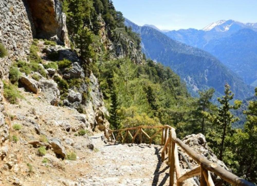 Imbros Gorge Nature Hike + Monastery Visit