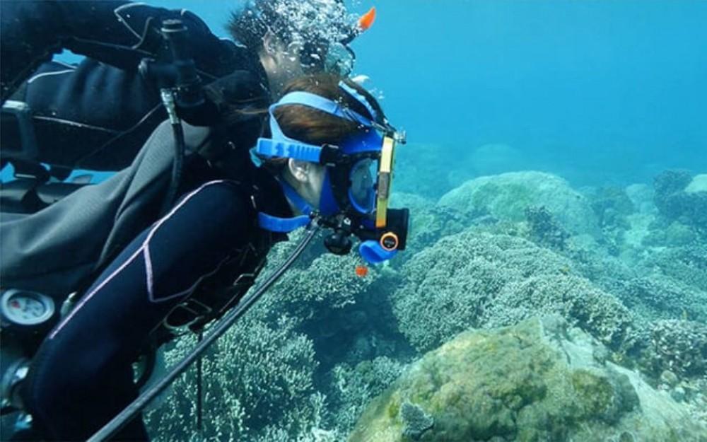 Blue Grotto Scuba + Snorkelling at Miyakojima Island