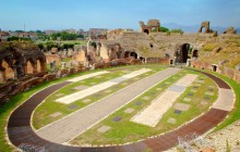 The Amphitheater and the Museum of the Ancient Capua