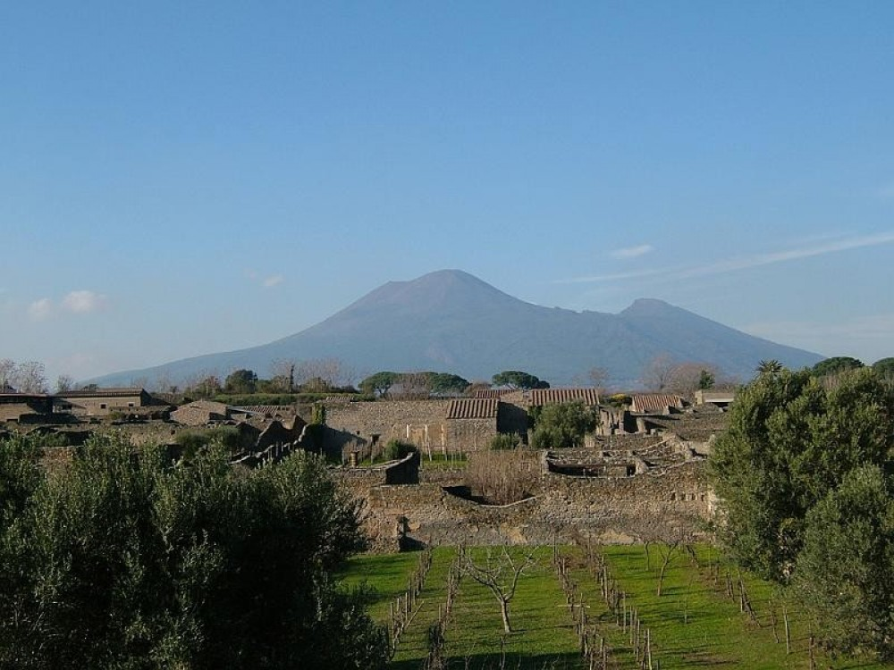 Small Group Pompeii and Vesuvius  from Naples with Skip The Line