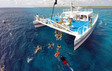 Catamaran + Snorkel Palancar 2 Reef with Beach Party