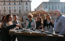 Best of Florence Walking Tour with Accademia + Uffizi + Vasari