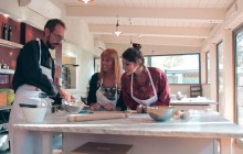 VIP Cooking Class with Winery Visit and Farmers' Market Tour