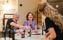 Wine Enthusiasts' Dinner at a Boutique Tuscan Winery & Wine Lab