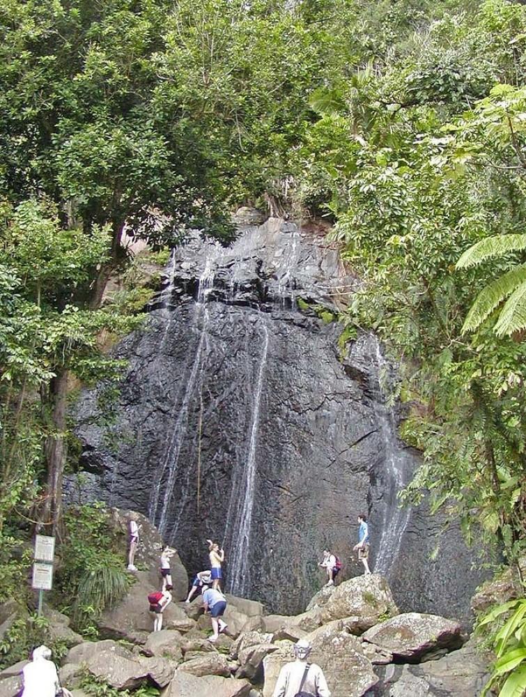 La Coca Waterfall
