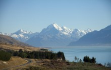 Queenstown To Christchurch via Mount Cook