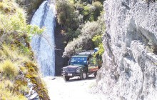 Skippers Canyon Gold Heritage 4WD Jeep Tour