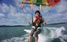 Parasailing Bay of Islands - Single Flight 1200 ft
