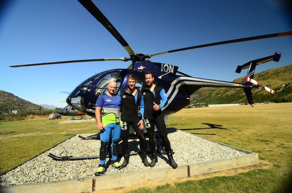 Queenstown Helicopter Canyoning