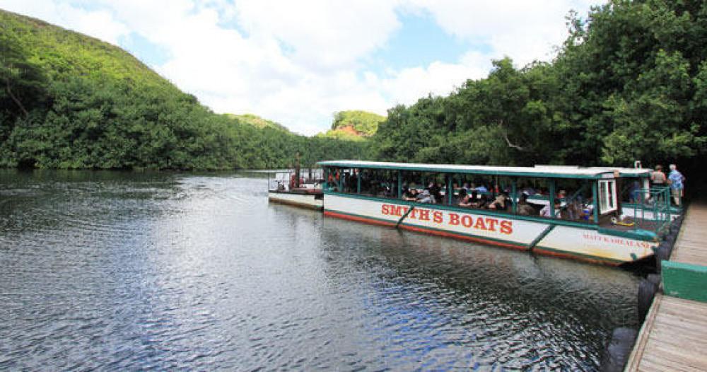 Cruise Excursion - Kauai - Wailua River Cruise & Fern Grotto