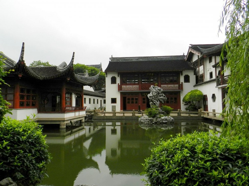 The Confucius Temple Of Shanghai