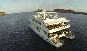 A picture of 5 Day Galapagos Cruise on M/C Millennium - Itinerary E