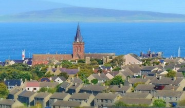 A picture of Orkney, Ullapool and the Northern Highlands from Edinburgh