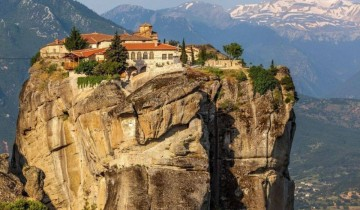A picture of 2 Day Rail Tour to Meteora from Athens - Tourist Class