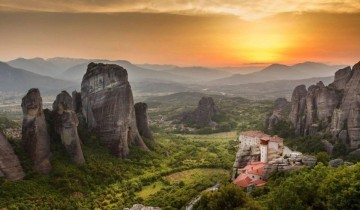 A picture of 2 Day Rail Tour to Meteora from Athens - A Class
