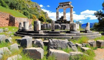 A picture of 3 Day Trip to Delphi and Meteora from Athens - A-Class