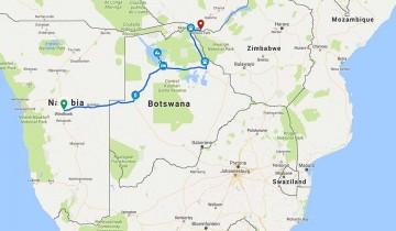 A picture of 8 Day Okavango Delta/Victoria Falls Serviced Camp Adventure