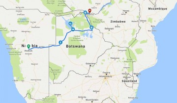 A picture of 8 Days Okavango Delta and Victoria Falls Accommodated Adventure