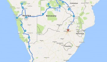 A picture of 25 Day Cape To Vic Falls & Zimbabwe Serviced Camp Adventure