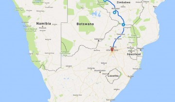 A picture of 7 Day Victoria Falls To Johannesburg Accommodated Adventure